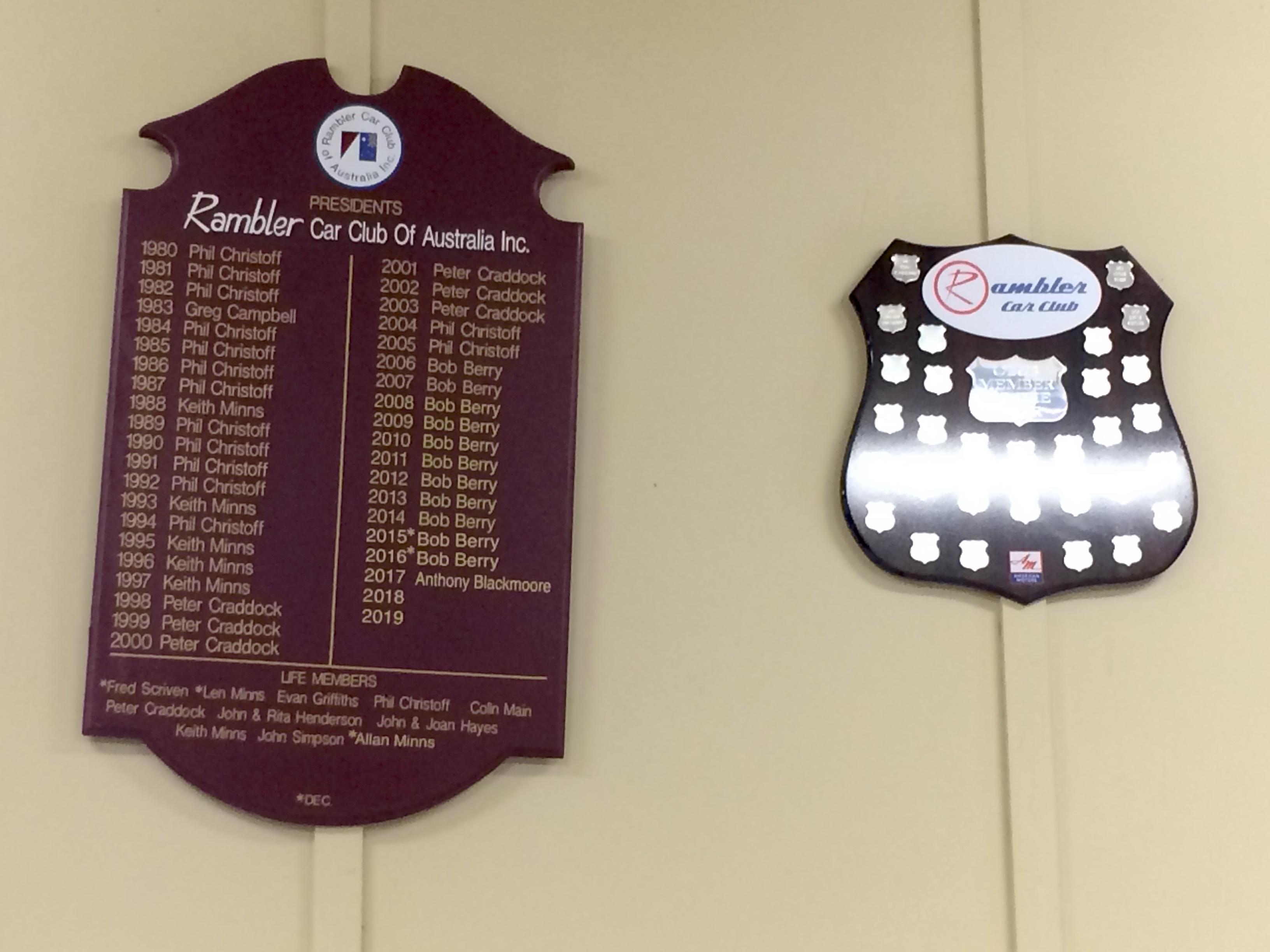 File Rambler Car Club Honour Boards Horrie Watson Hall Deepdene