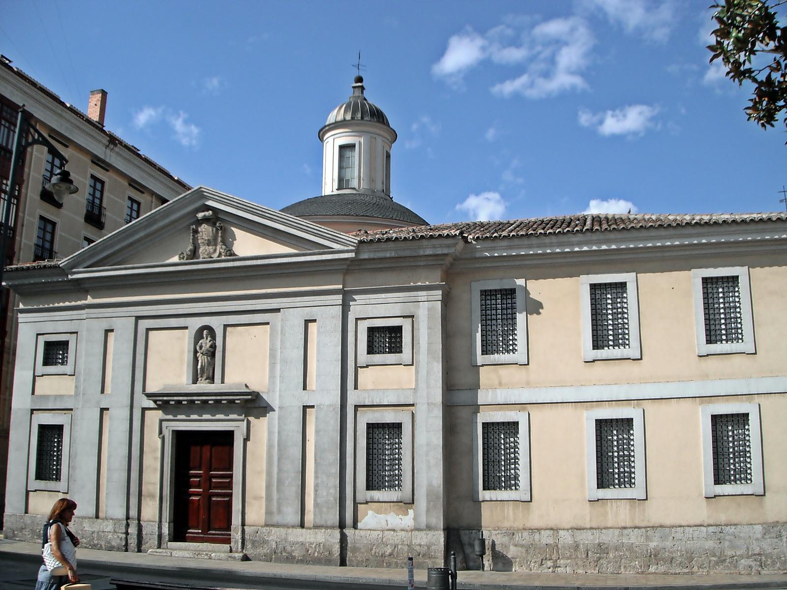 File real monasterio de recoletas bernardas de san joaqu n - Santa ana valladolid ...