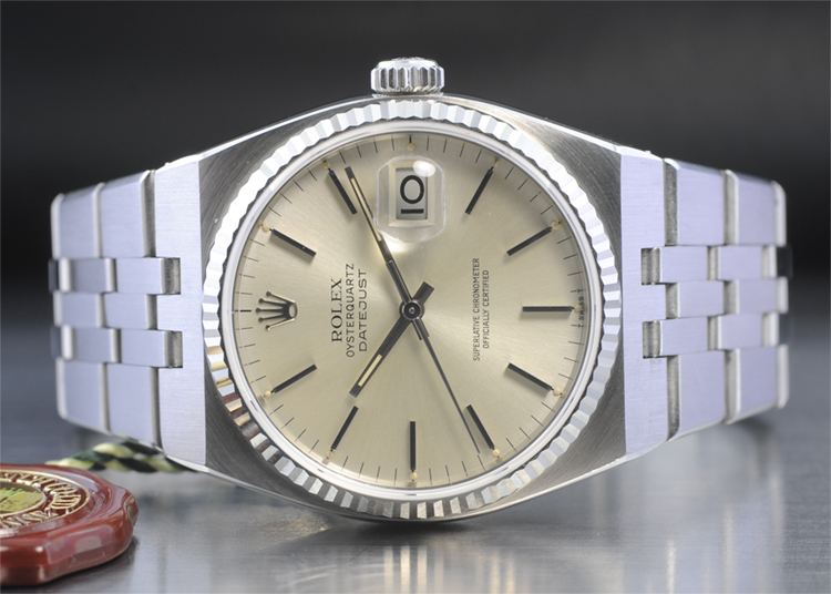 rolex quartz watch