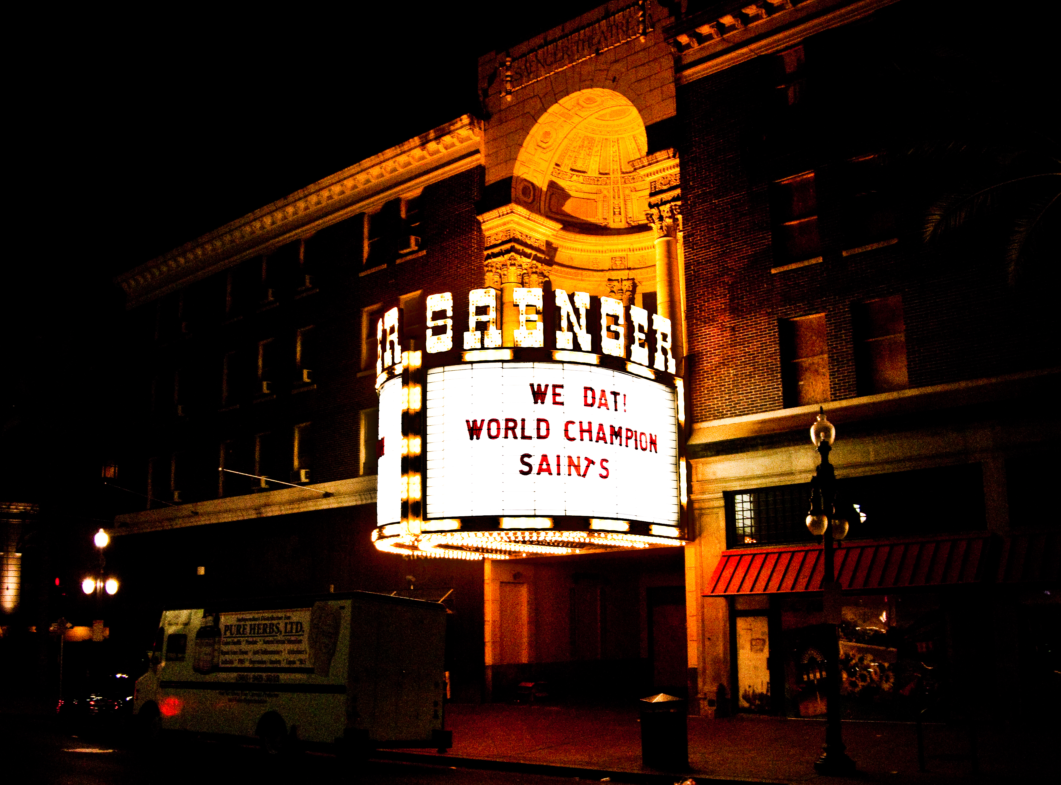 Image result for saenger theater