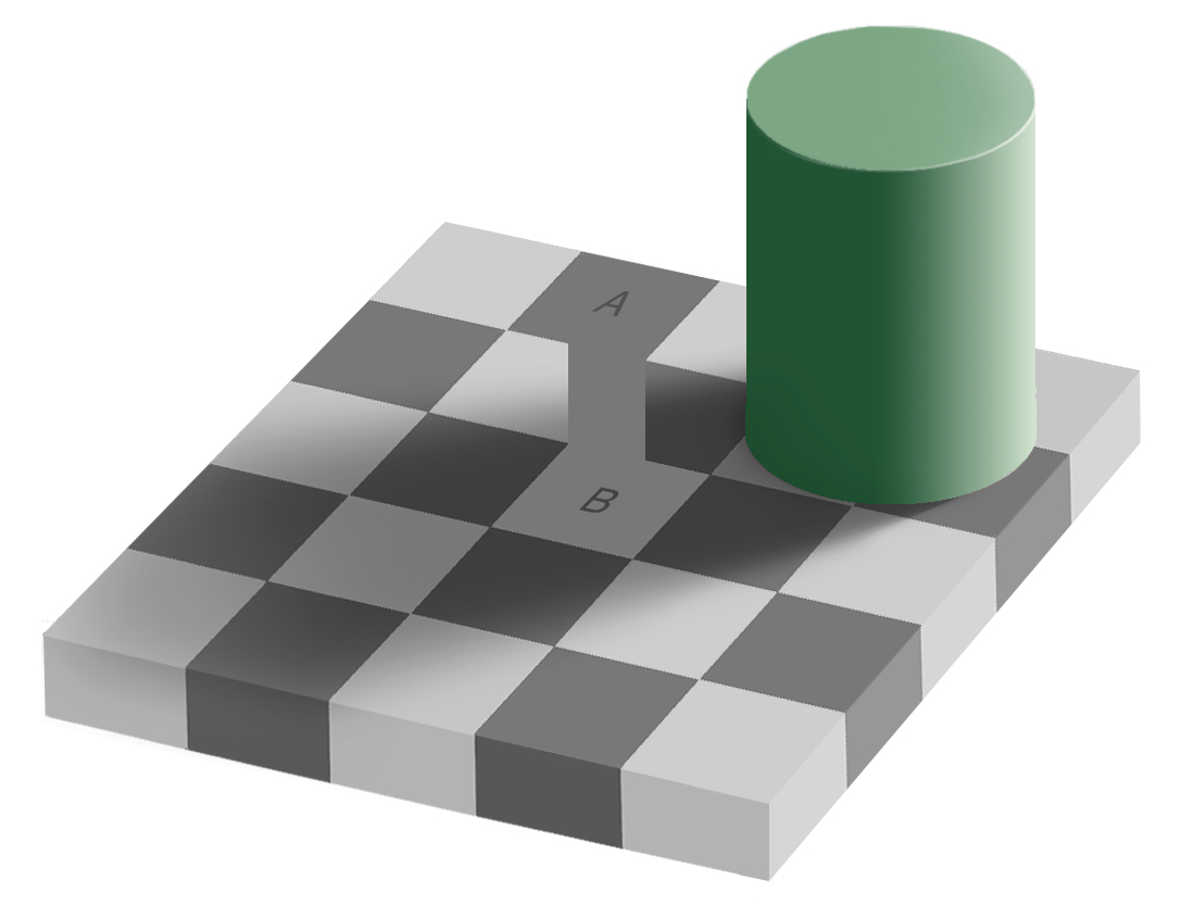 chess board illusion 1