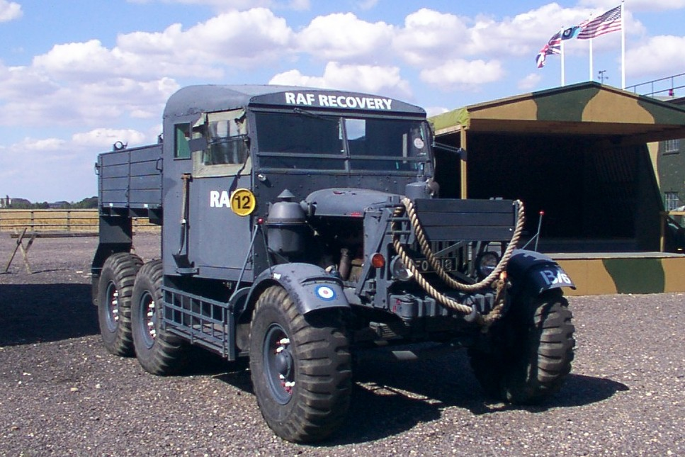A preserved Scammell Pioneer Heavy Truck
