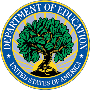 Ficheiro:Seal of the United States Department of Education.png