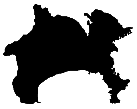 Paypay:Shadow picture of Kanagawa prefecture.png