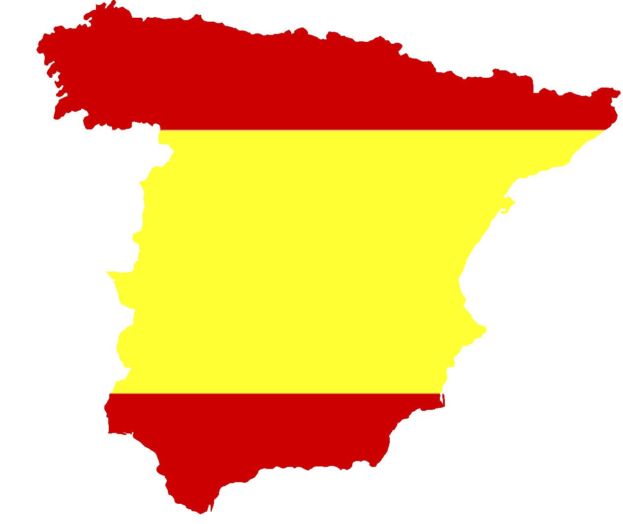Silueta Mapa De España Png.File Silhouette Spain With Flag Png Wikimedia Commons