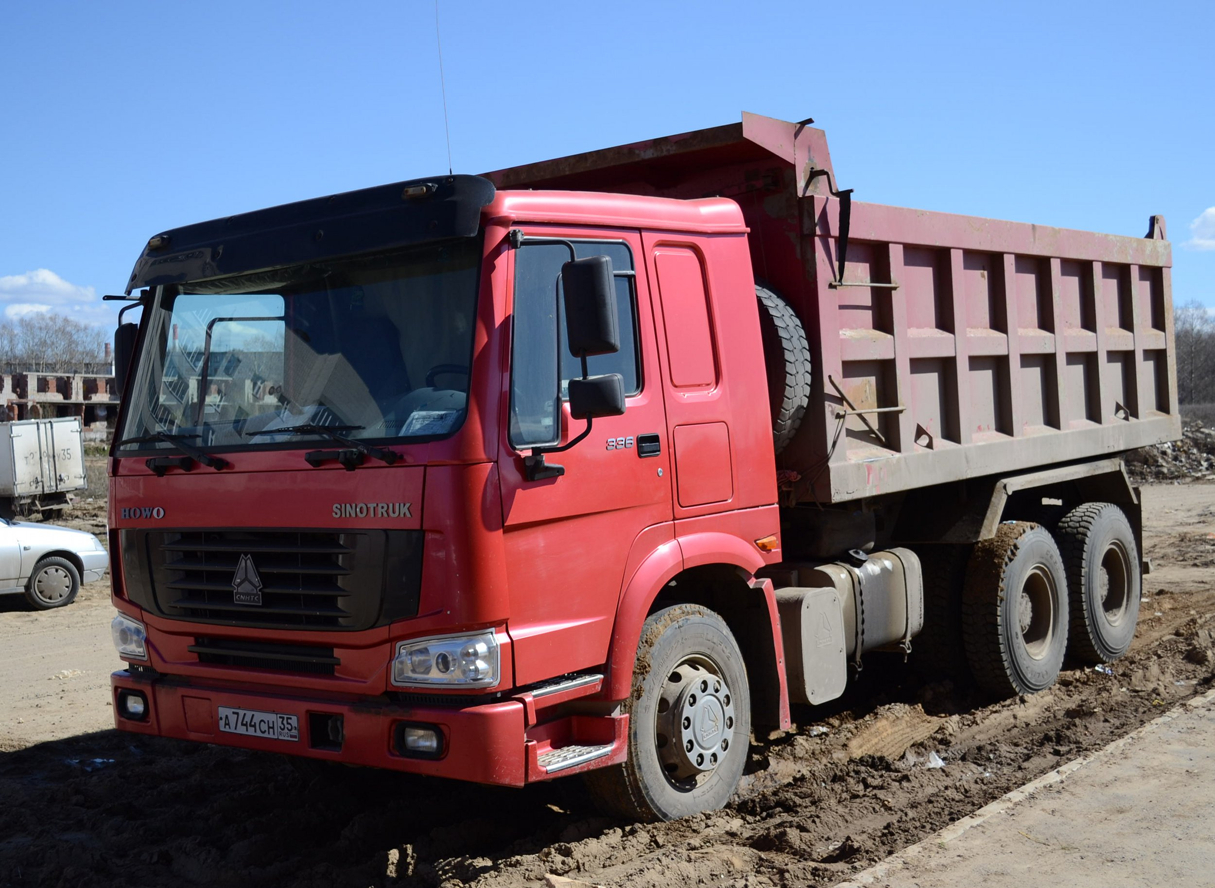 Build Your Own Ford >> File:Sinotruk Howo Truck.jpg - Wikimedia Commons