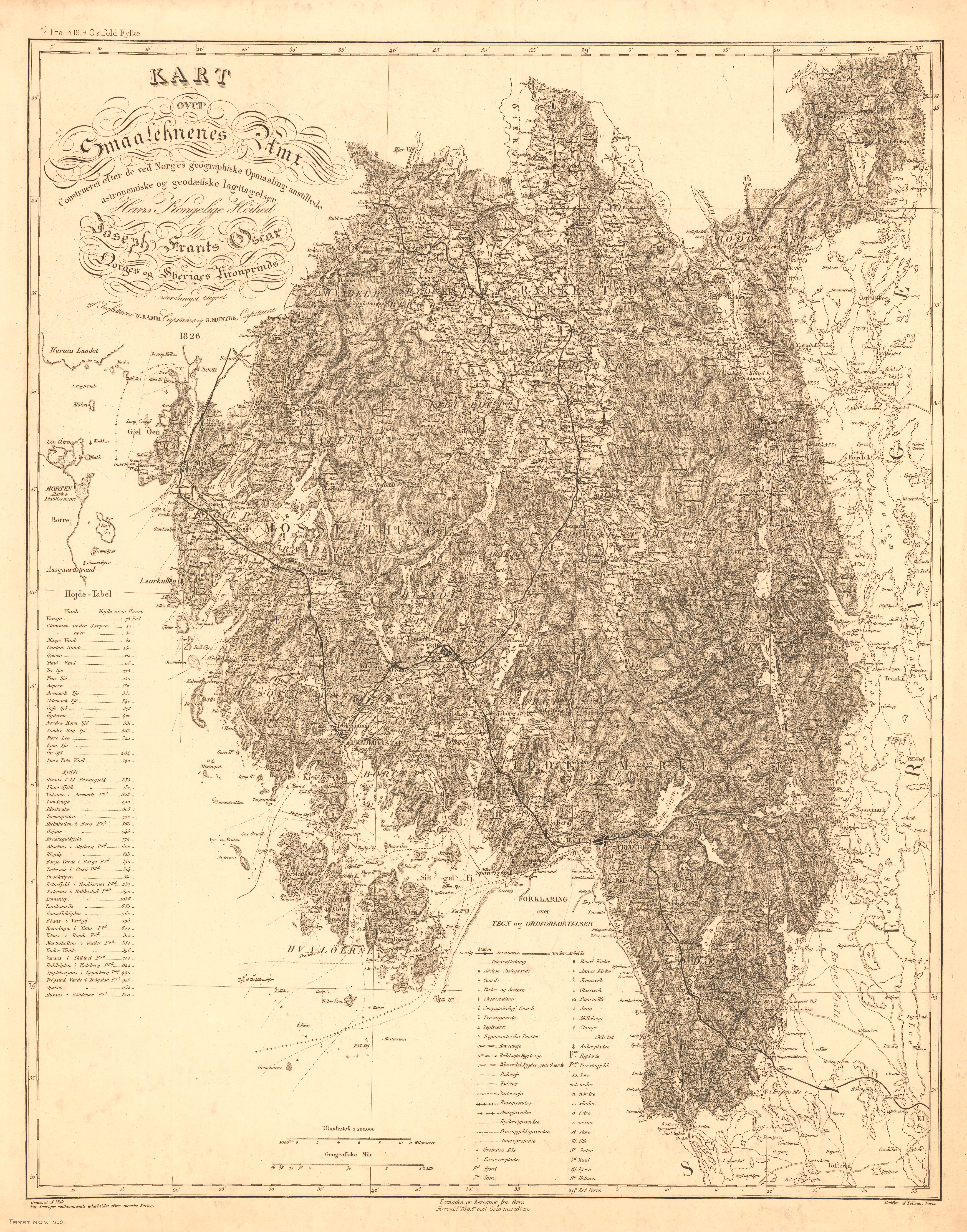 kart oppmåling File:Smålenenes amt nr 173  Kart over Smålenenes amt; constuert  kart oppmåling