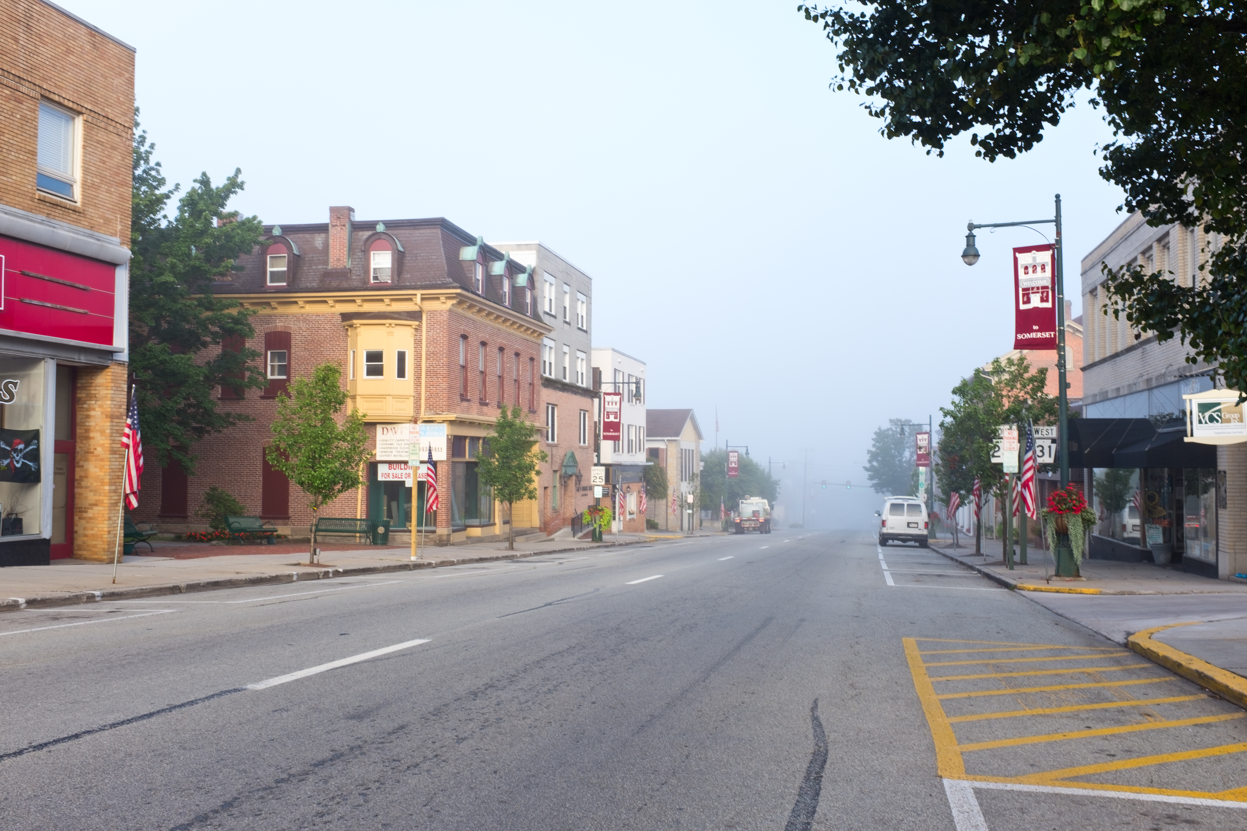 File:Somerset PA in the early summer morning jpg - Wikimedia