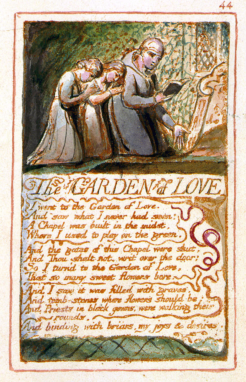 an analysis of the garden of love The garden of love: a venture into a poet's past of promiscuity titles of poems are often derived from actual content of the passage, though the title itself may not reflect the poem's tone and meaning.