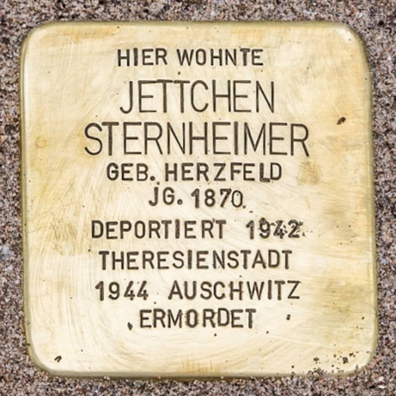 Stolperstein für Jettchen Sternheimer