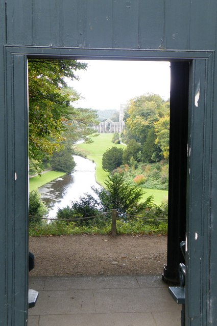 FileStudley Royal - The Surprise View Through The Door Of Anne Boleyn\u0027s Seat - & File:Studley Royal - The Surprise View Through The Door Of Anne ...