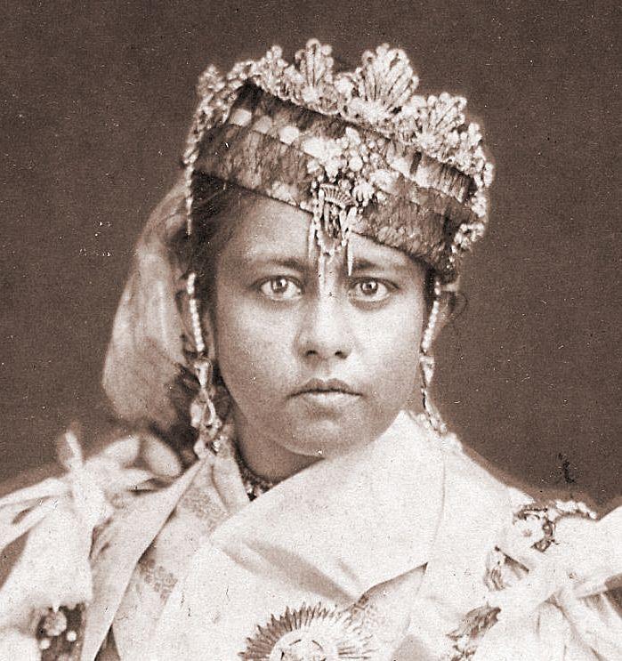 Shah Jahan Begum. Photo credit: Louis Rousselet/Wikimedia Commons [Public Domain].