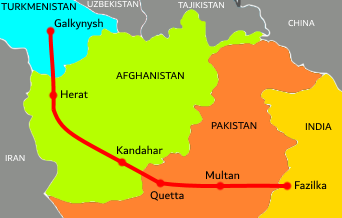 Turkmenistan–Afghanistan–Pakistan–India Pipeline - Wikipedia