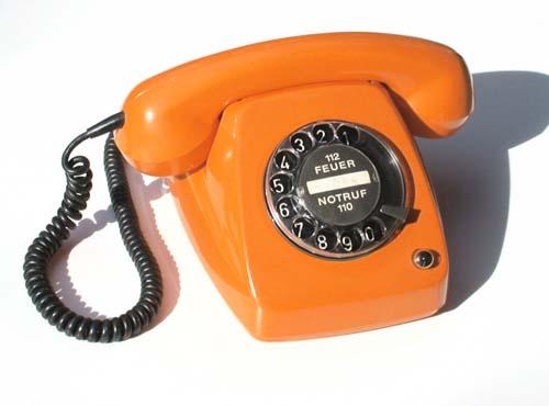 Schönes altes Telefon