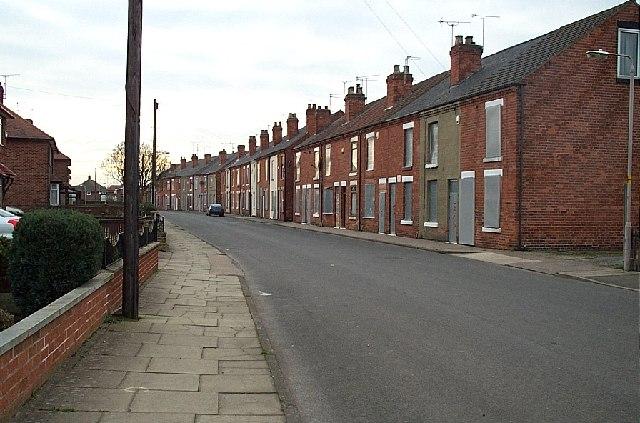 terraced house uk