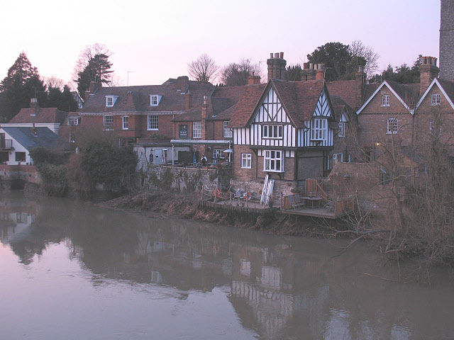 The Chequers, Aylesford - geograph.org.uk - 1741216