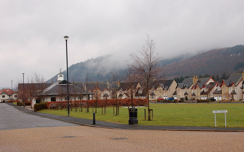 The Green, Cardrona - geograph.org.uk - 2270931