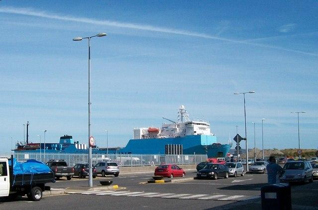 File:The Maersk Anglia, the Dublin-Heysham Norfolkline ro-ro ferry - geograph.org.uk - 1457803.jpg