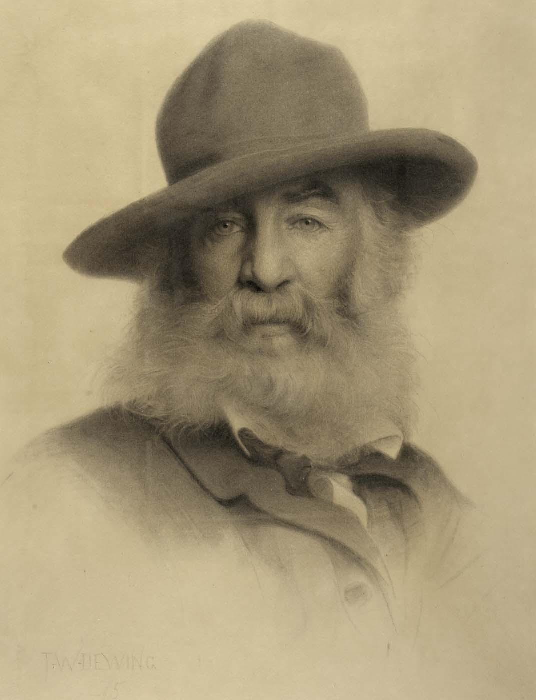 Portrait of Walt Whitm... Thomas Eakins Paintings