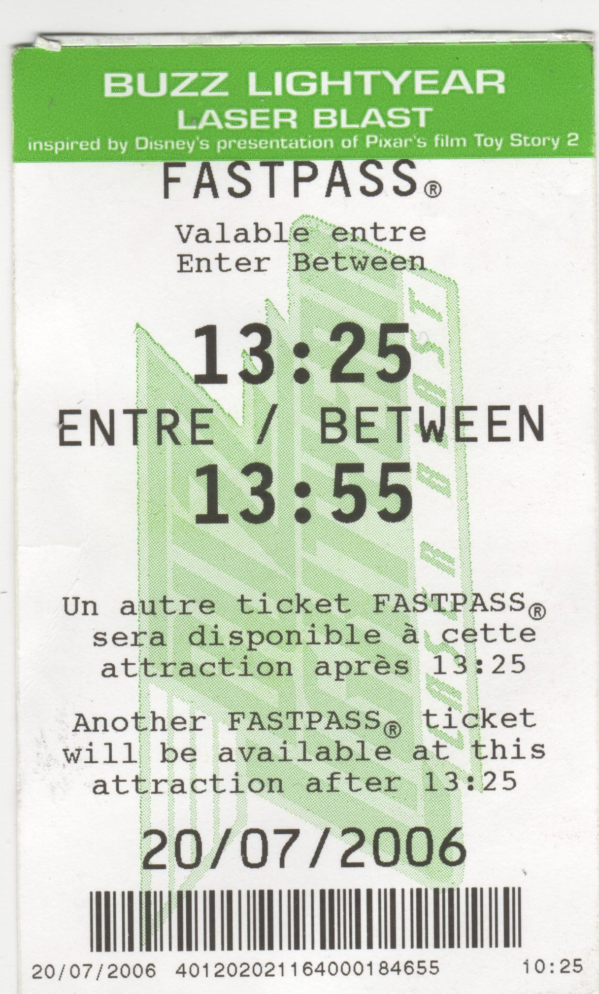 Buy tickets for Disneyland Paris on our website.