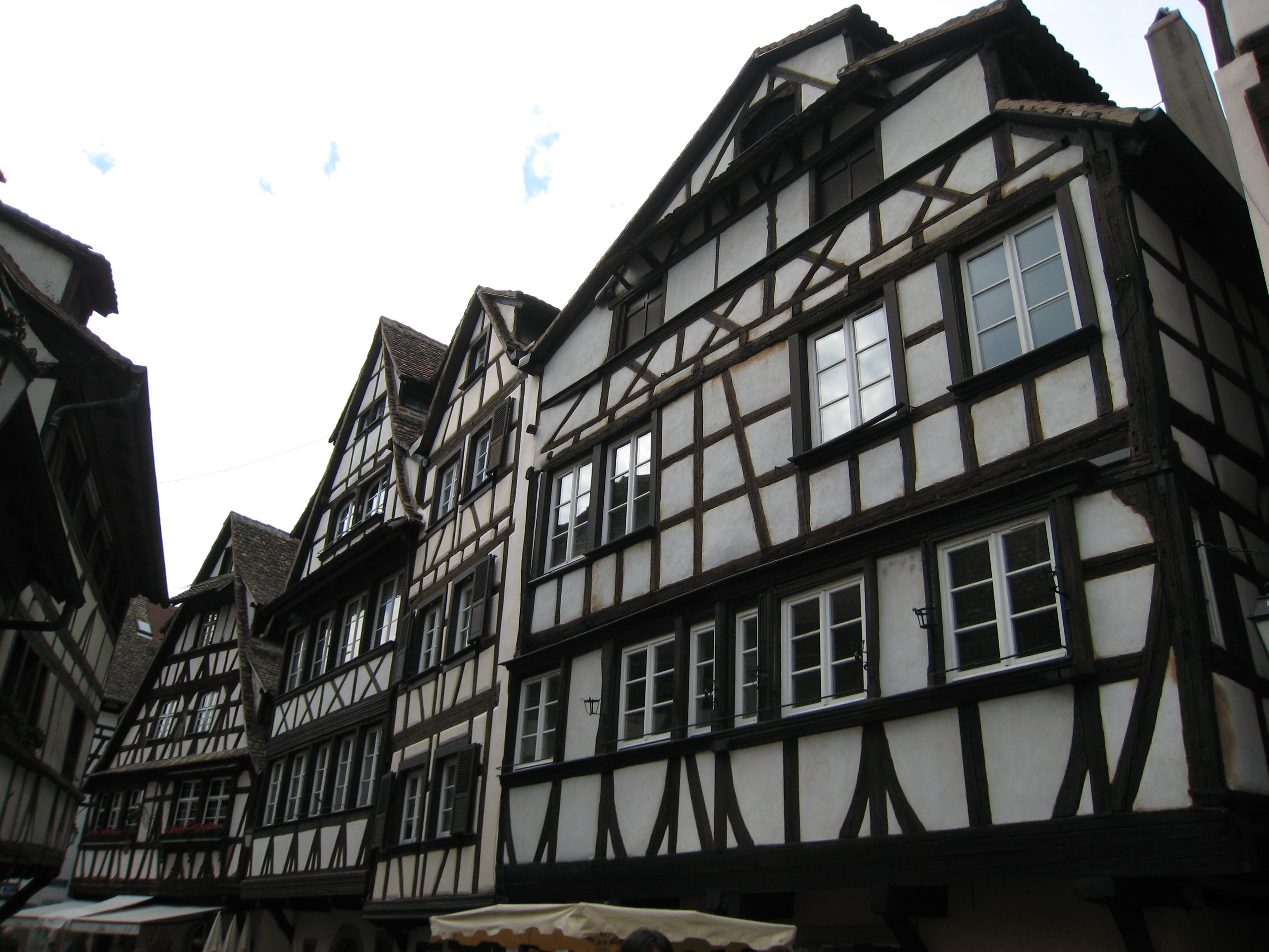 Timber framing to the limits in Strasbourg's Petite France.jpg
