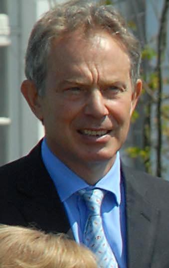 Tony Blair at the 2007 G8 summit, Germany