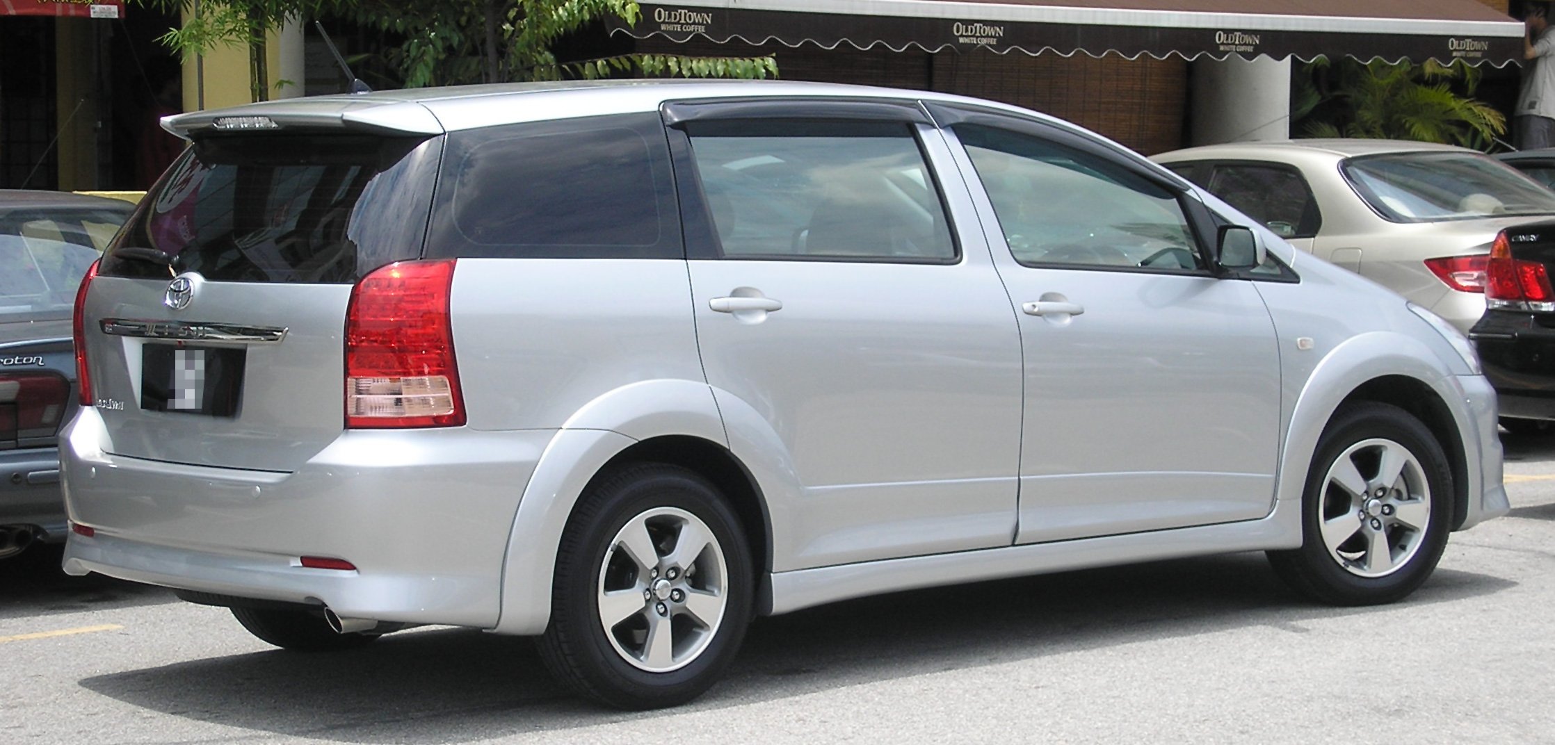 File toyota wish first generation first facelift rear serdang