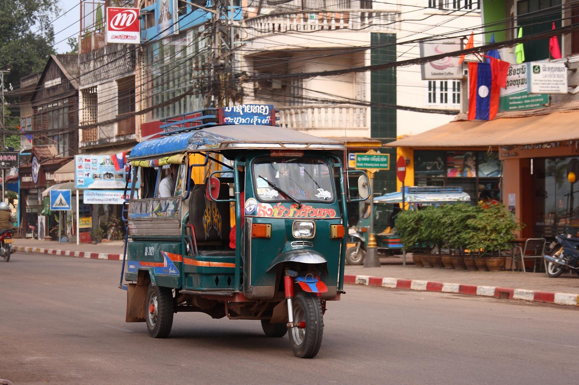 Vientiane Şehir İçi Ulaşım