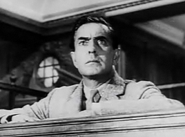 Power as the accused murderer in the 1957 adaptation of Agatha Christie's Witness for the Prosecution