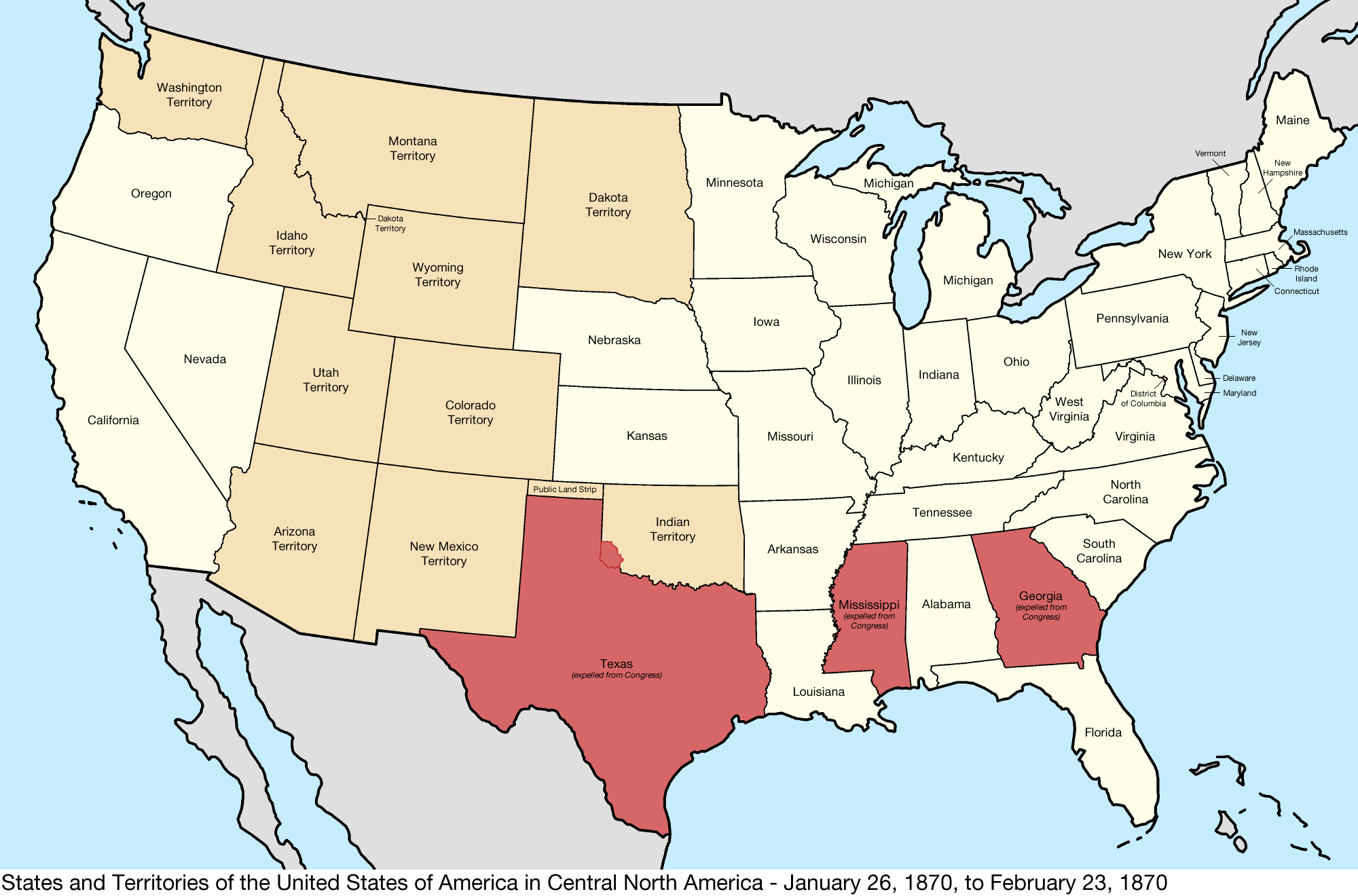 Map Of Us 1870 File:United States Central map 1870 01 26 to 1870 02 23.png