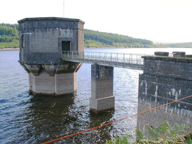 Usk reservoir tower