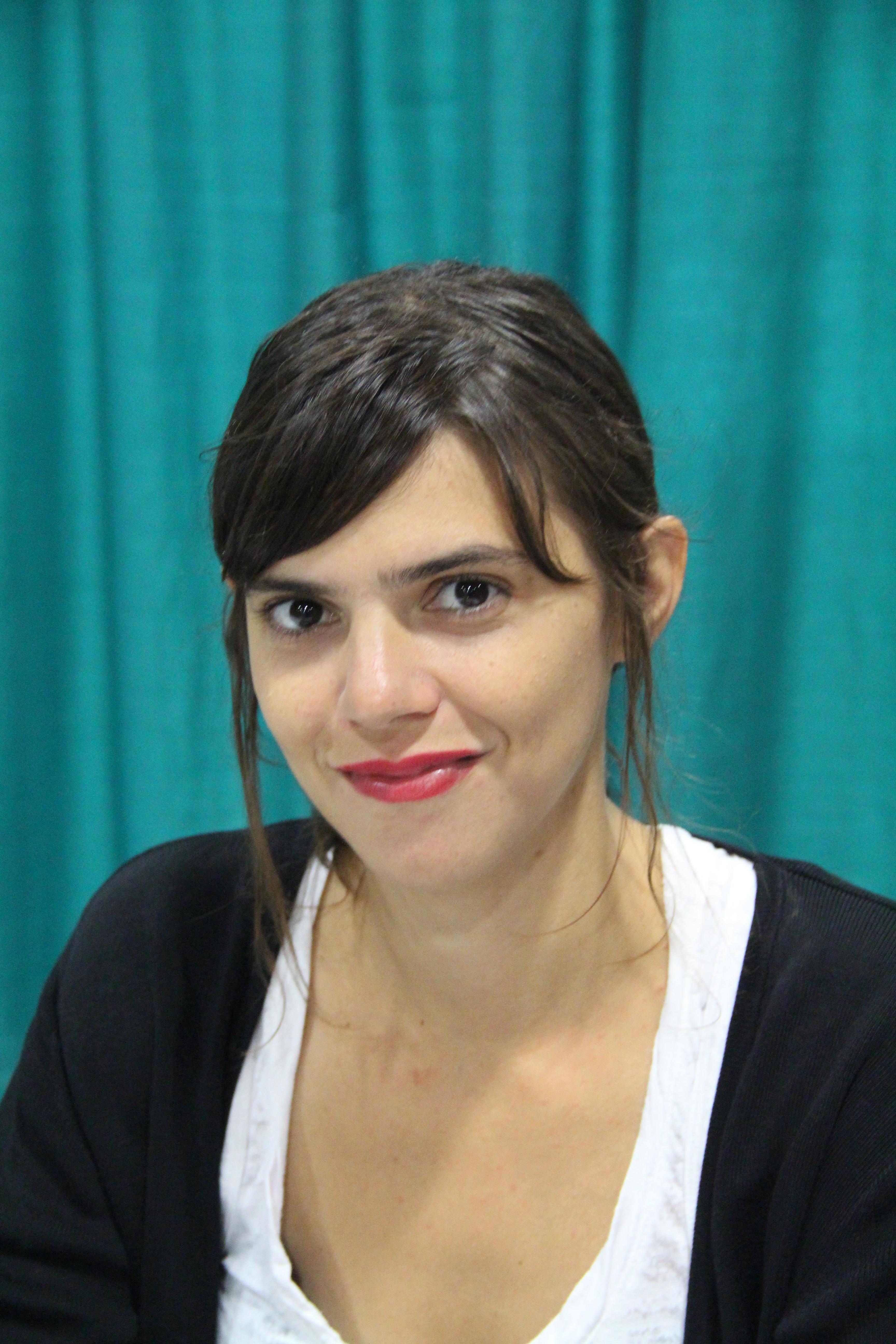Valeria Luiselli - Kaynak: 5 Eylül 2015'te, National Book Festival'de çekilmiş anonim bir foto