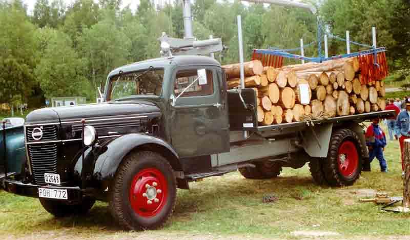 File Volvo L 223 Z Truck 1950 Jpg Wikimedia Commons