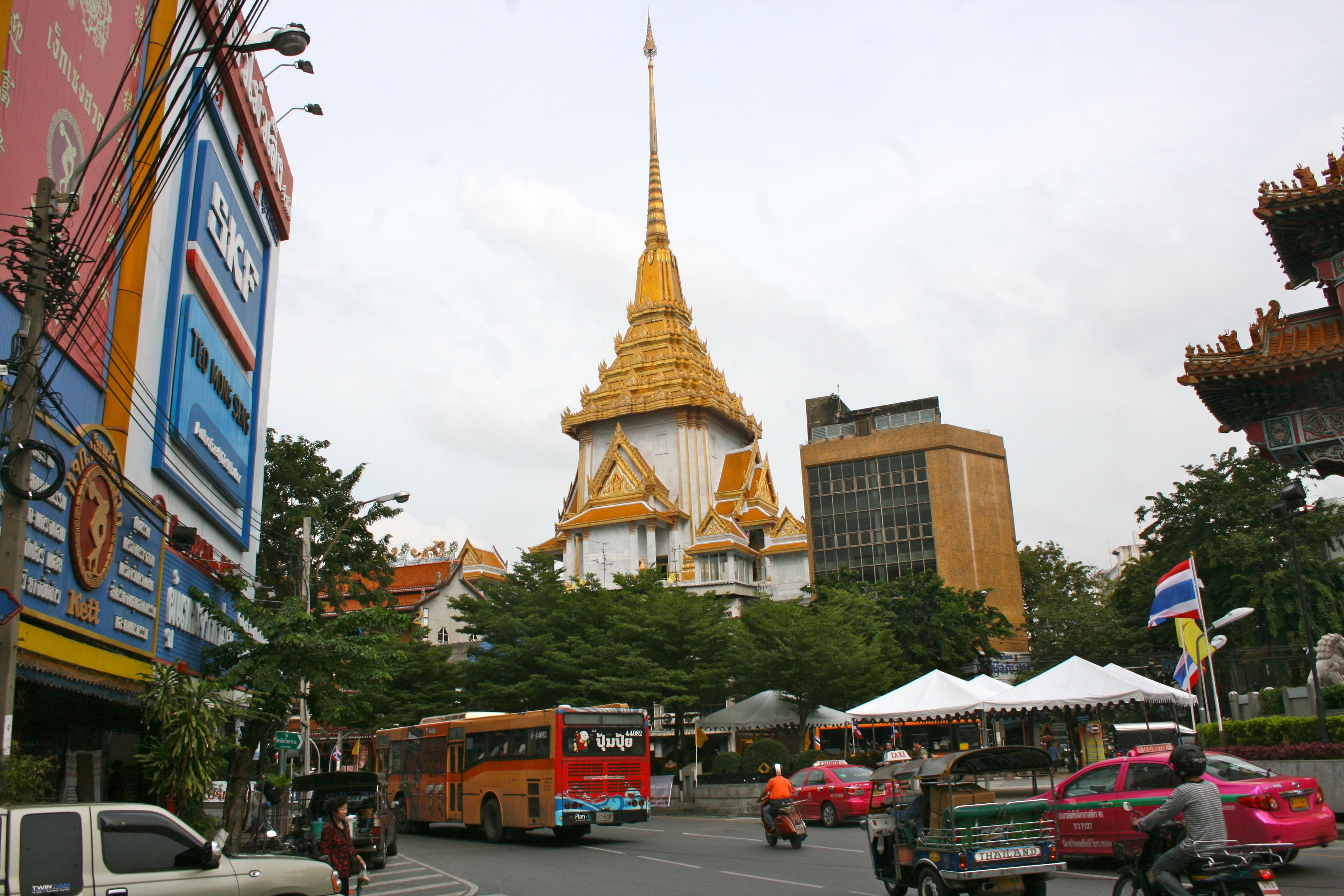 Description Wat Traimit  The Temple of the Golden Buddha  8271109826    Wat Traimit