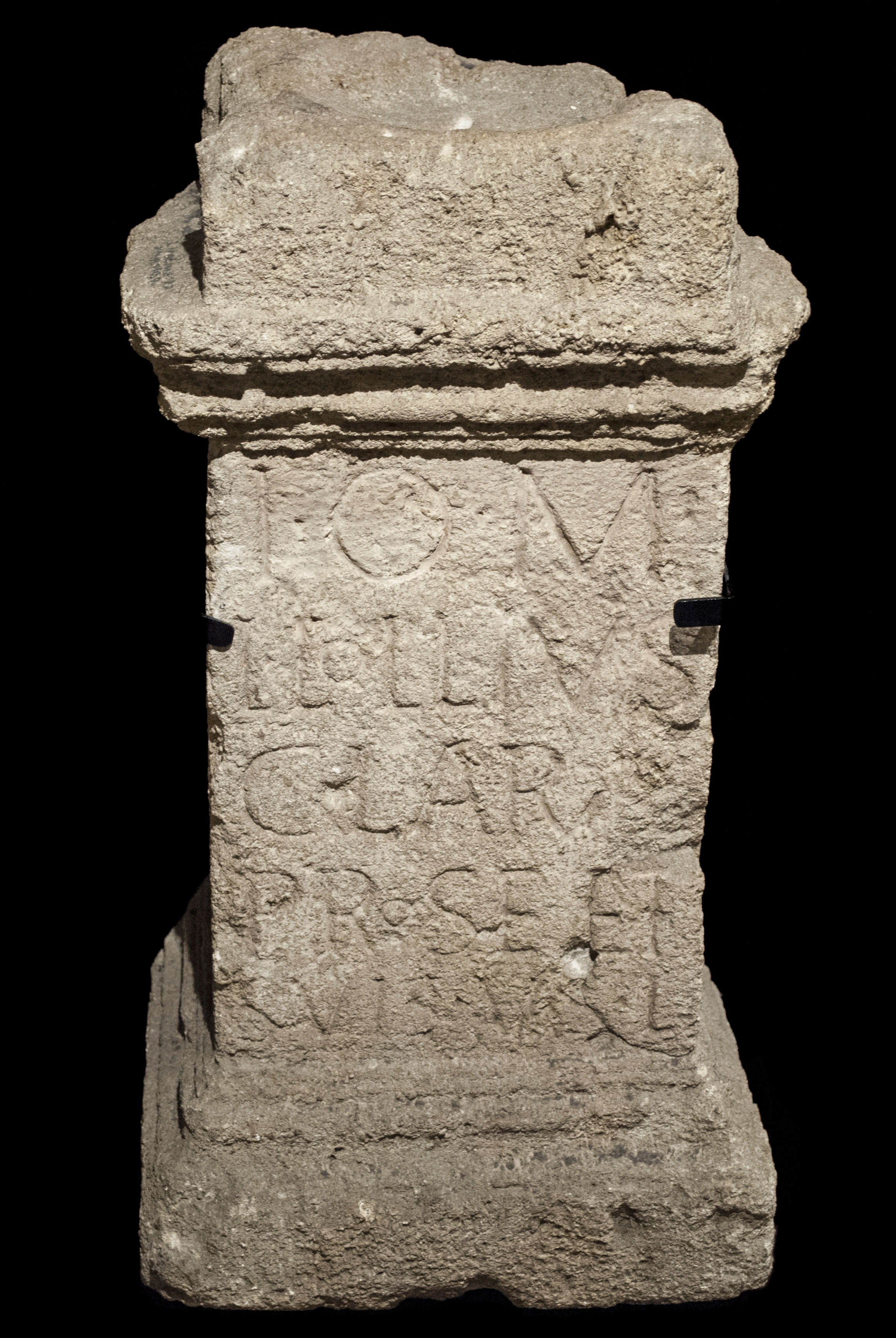 An image of an altar to Jupiter Optimus Maximus.