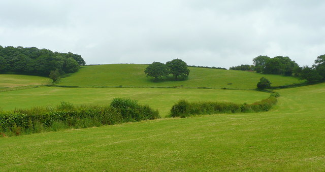 West side of the Marcle Ridge - geograph.org.uk - 859272
