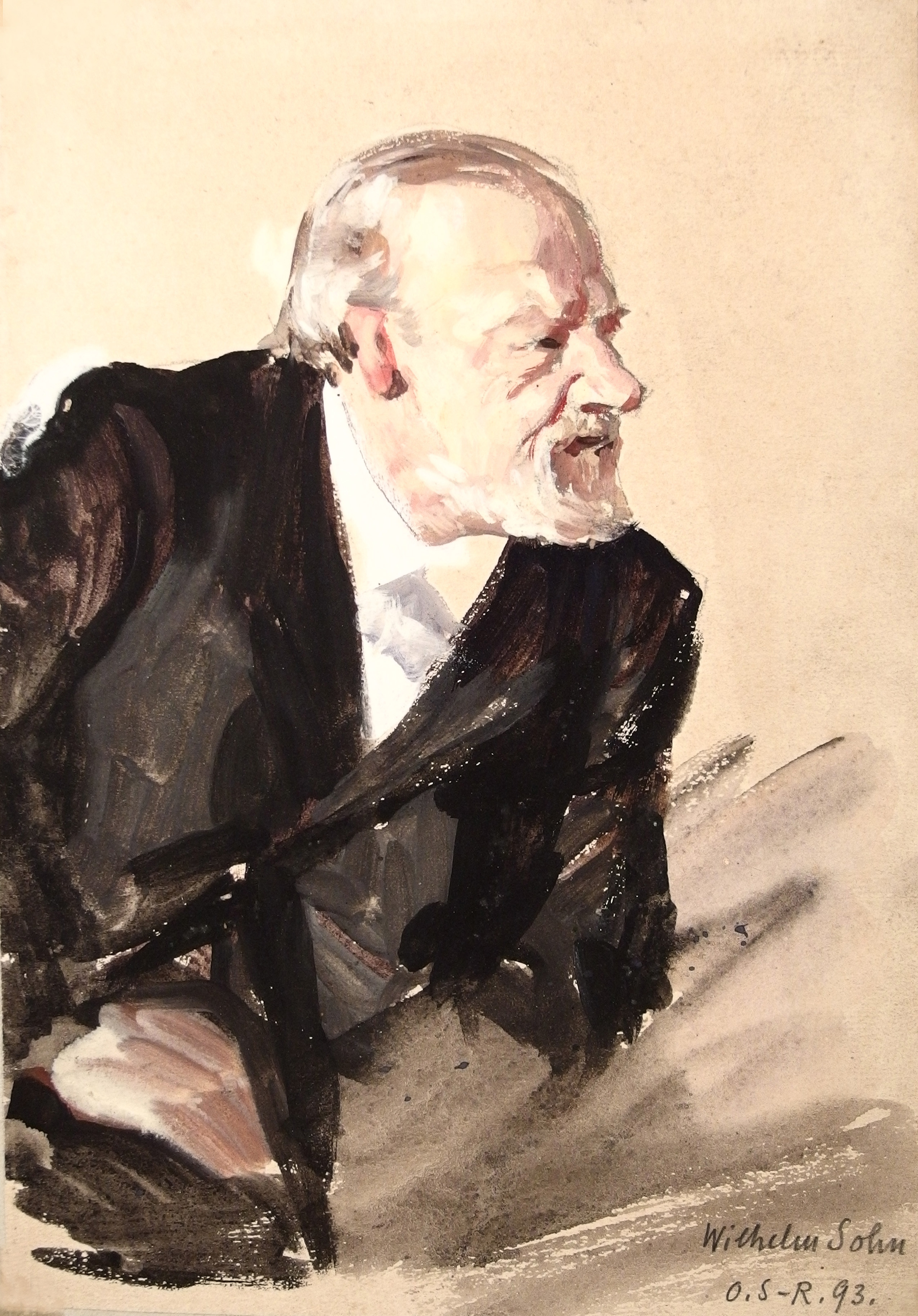 File Wilhelm Sohn gemalt von Otto Sohn Rethel 1893
