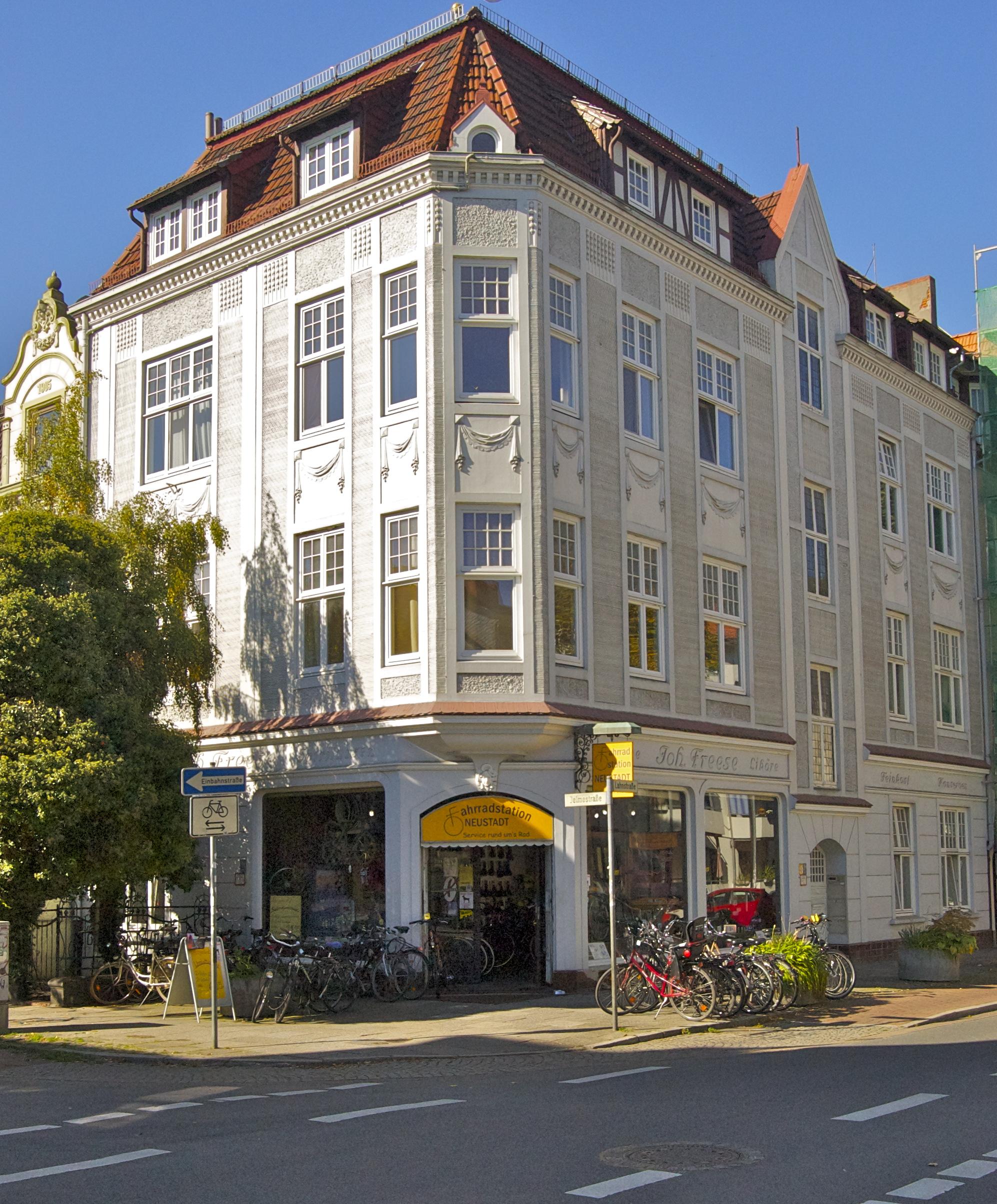 File Wohnhaus Denkmal Bremen Neustadt Lahnstr