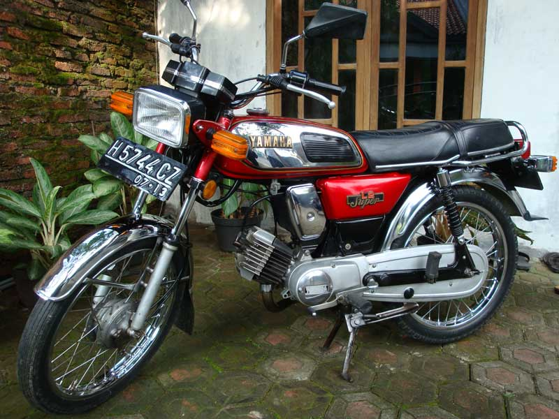 Motosikal Yamaha Cc
