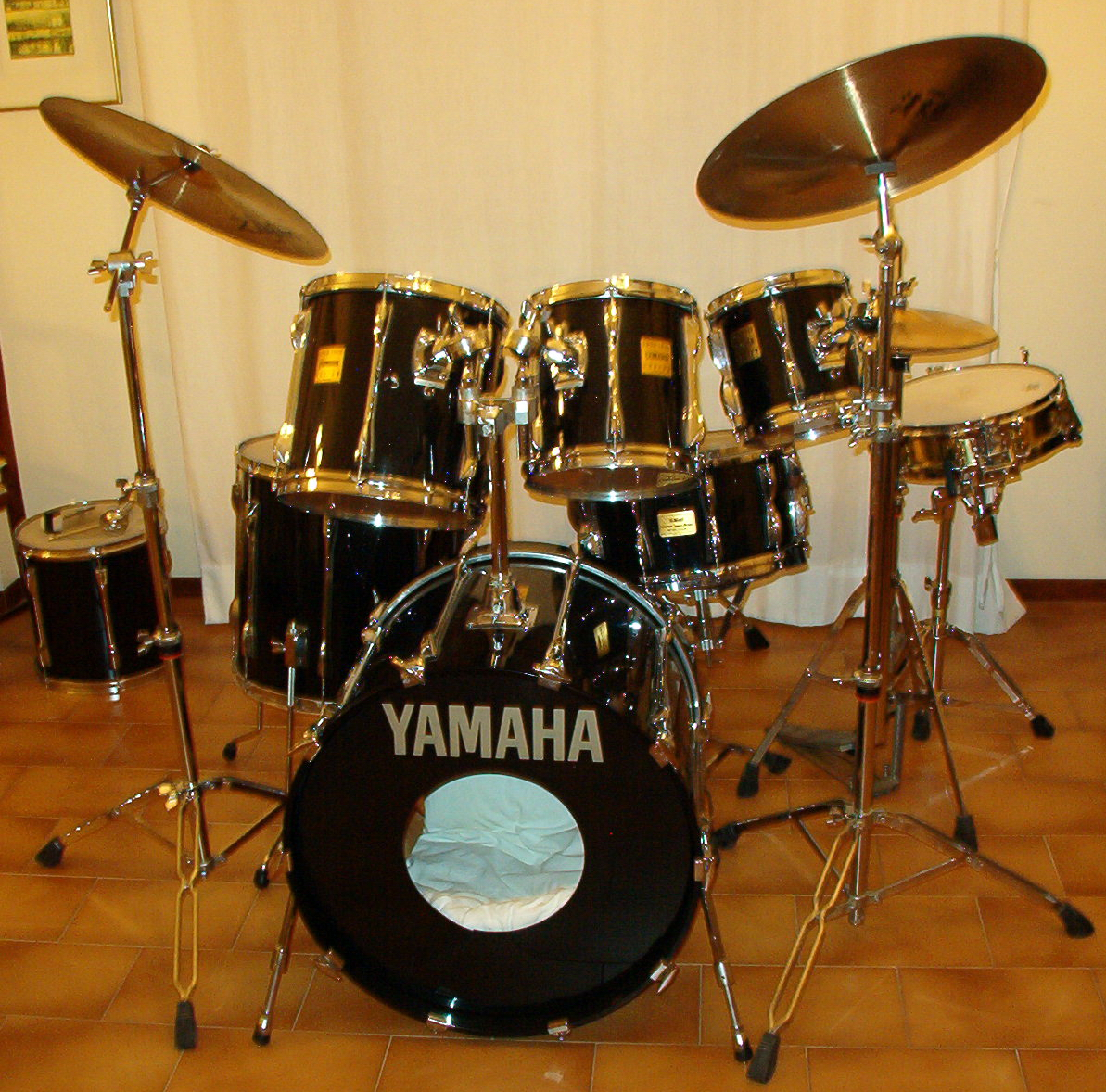 Yamaha Drum Badges For Sale