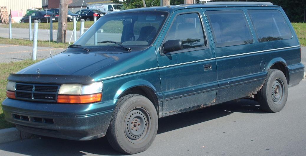 1994 dodge caravan base passenger minivan 2 5l manual rh carspecs us Dodge Grand Caravan 1994 dodge caravan owner's manual