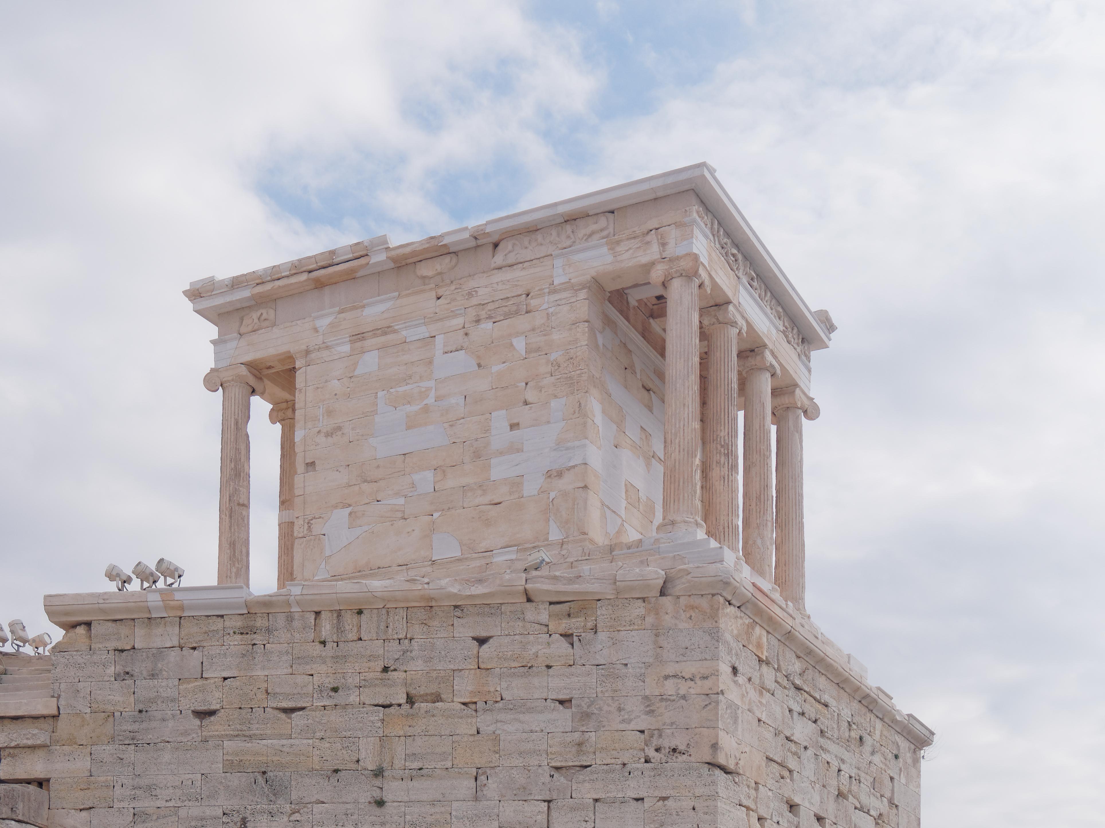 Templo De Atenea Nike Wikipedia La Enciclopedia Libre
