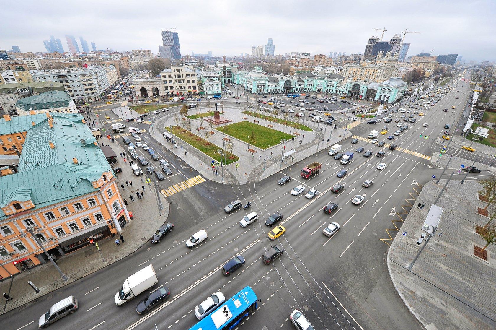 развитие сайта Площадь Академика Тамма