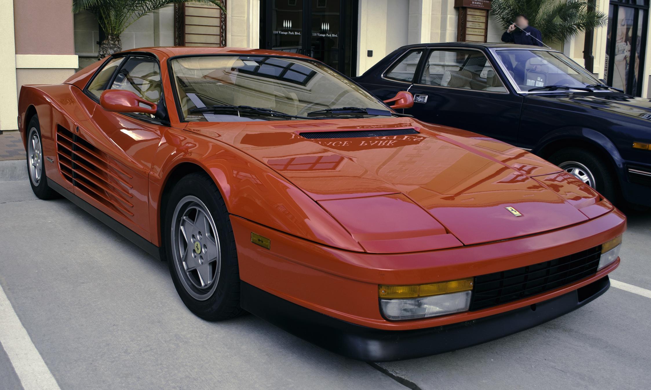 Ferrari Testarossa , Wikipedia
