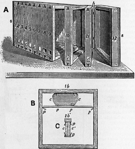 1911 Britannica - Bee - Huber's book.png
