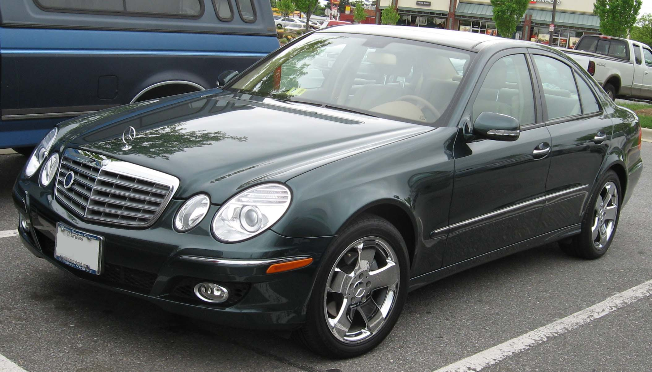 Lovely File:2007 Mercedes Benz E350