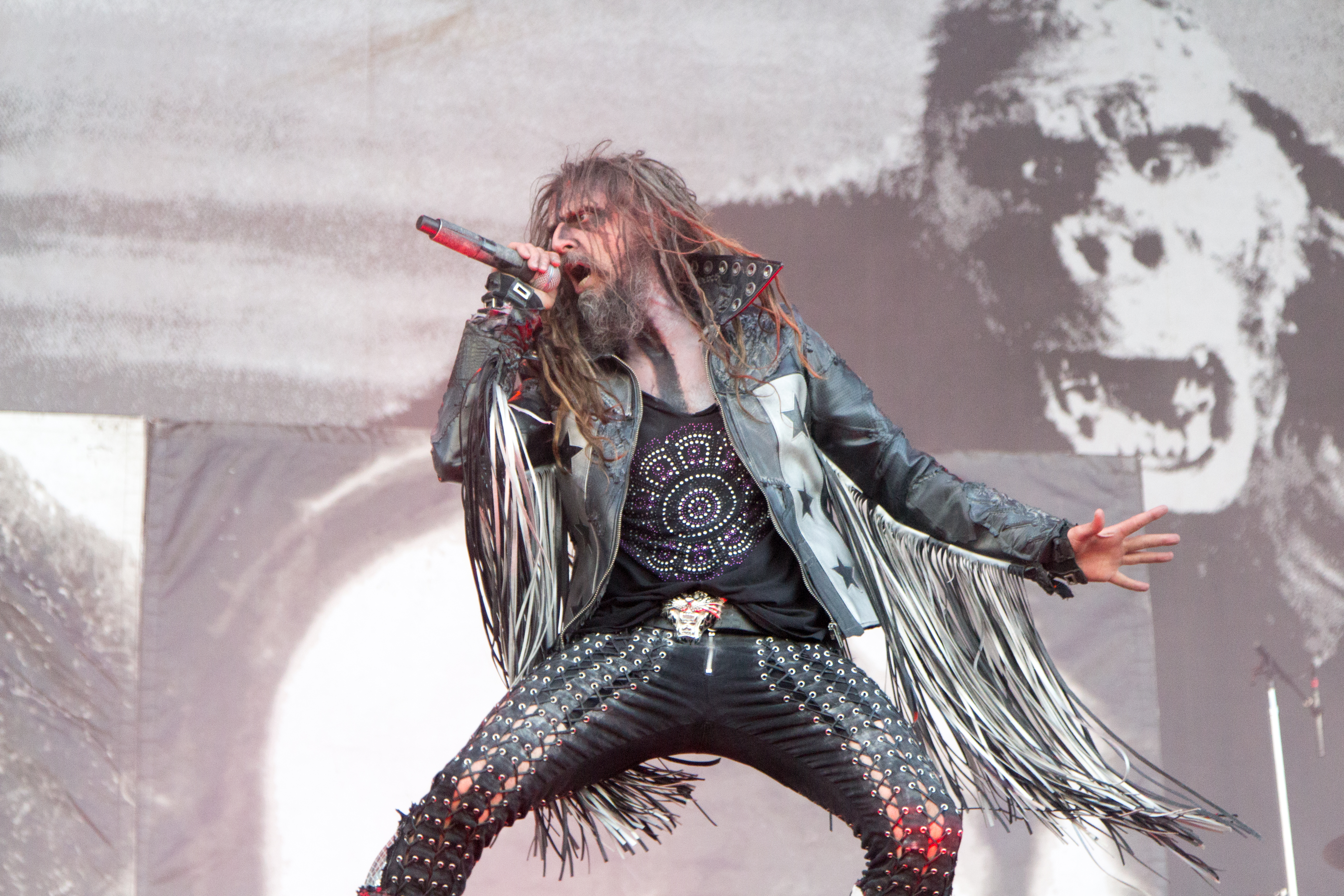 Pictures Rob Zombie Rob Zombie at Nova Rock 2014