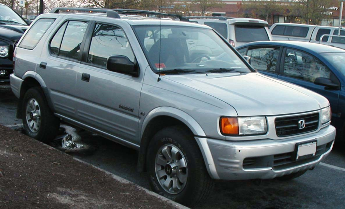 File 2nd Honda Passport Jpg Wikimedia Commons