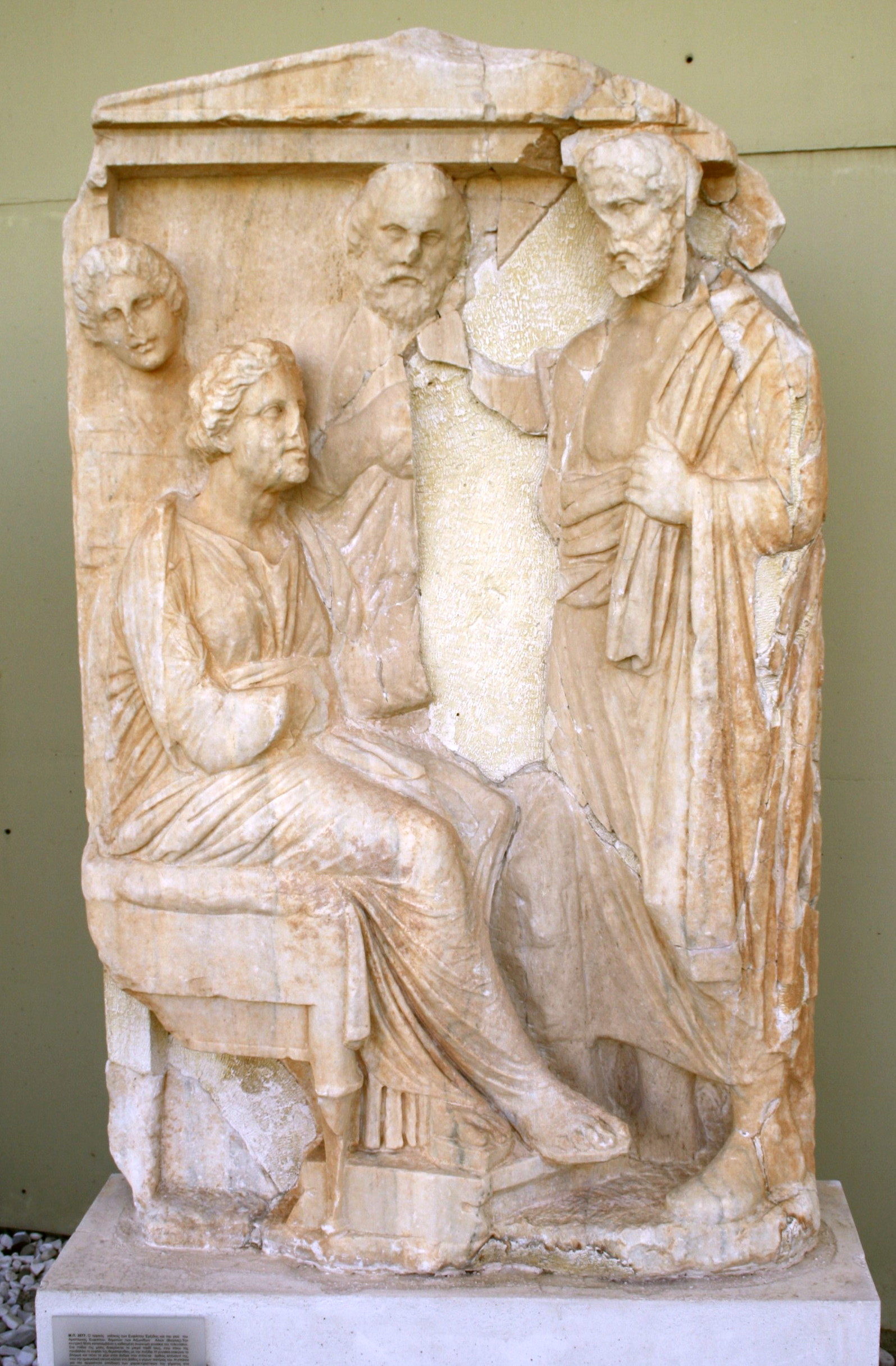 Athenian citizens, about 340 BCE