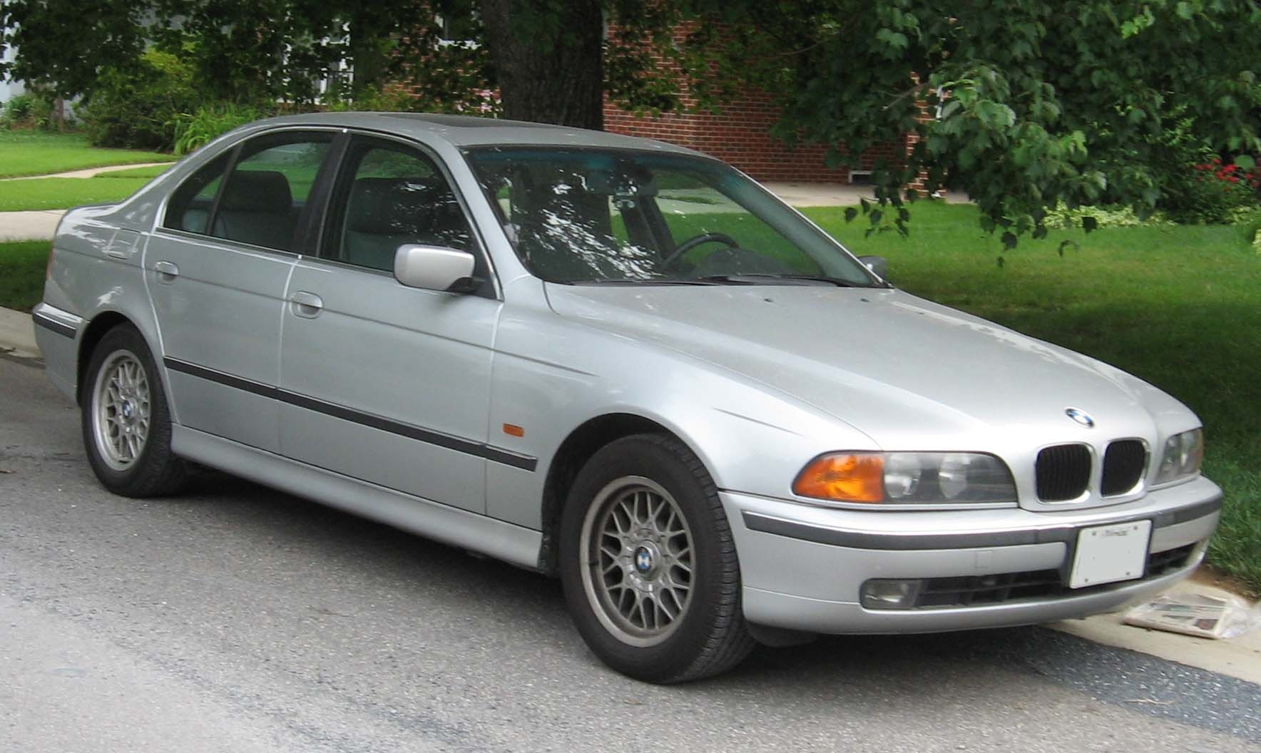 File 96 00 Bmw 5 Series E39 Sedan Jpg Wikimedia Commons